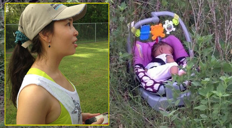 Abandoned baby Genesis Hailey found in bushes