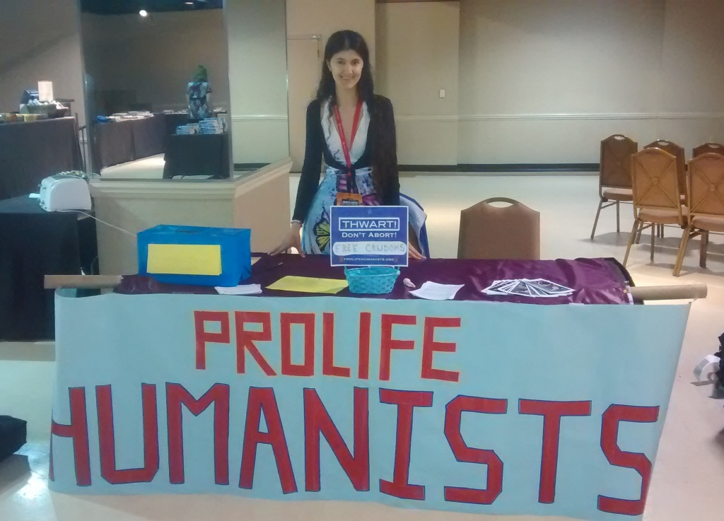 Pro-Life Humanists at American Atheist Convention! Memphis 2015
