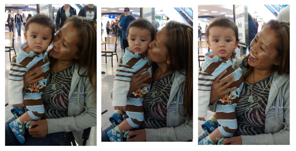 Noah and his Enamored Mom