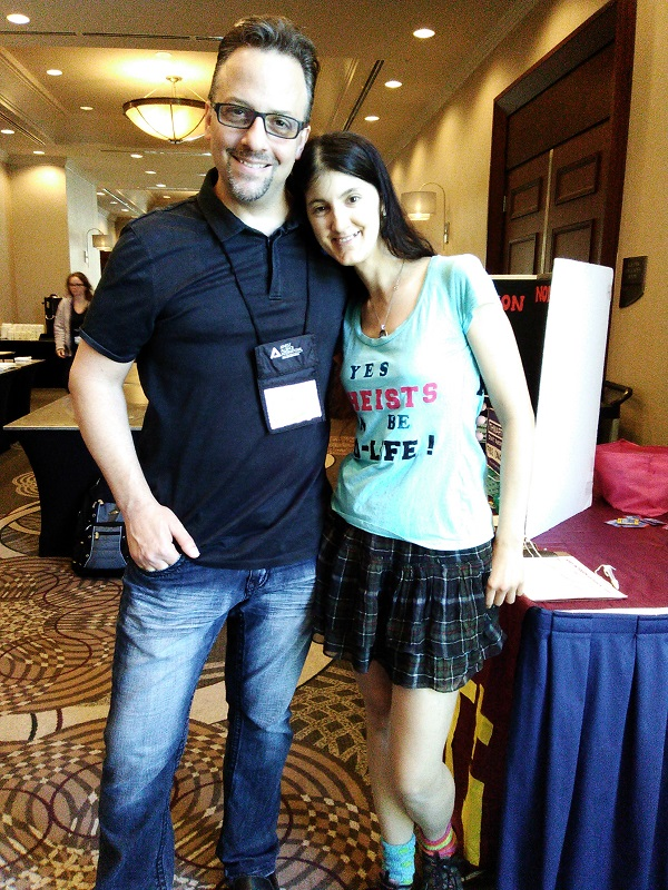 Seth Andrews, The Thinking Atheist with Kristine Kruszelnicki, The Pro-Life Atheist :)
